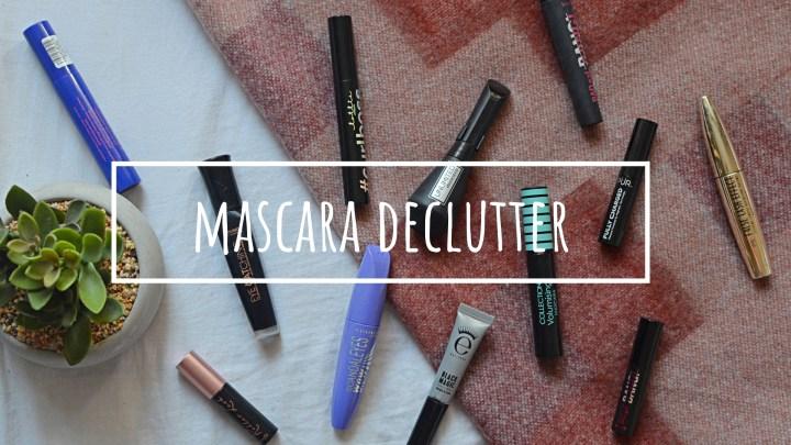 Mascara | Makeup Declutter 18/19