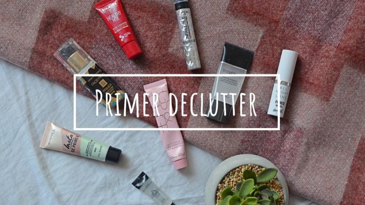 Primer   Makeup Declutter 18/19
