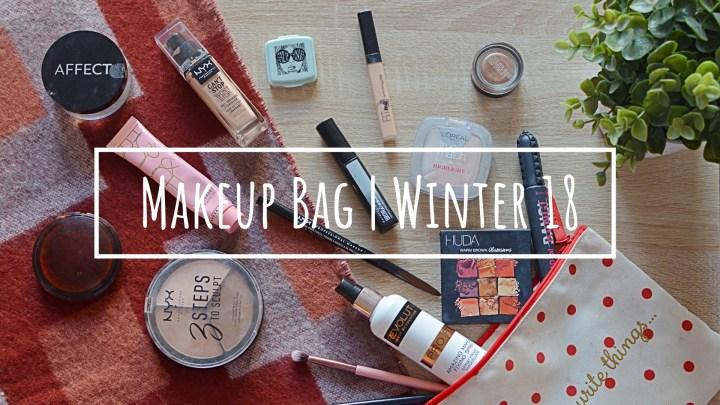 My Makeup Bag   Winter 18