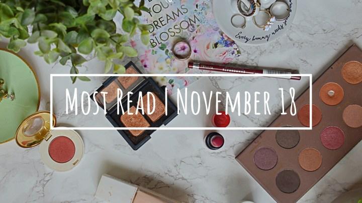 Most Read Blog Posts | November 18