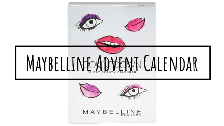 Maybelline Advent Calendar | SPOILER ALERT