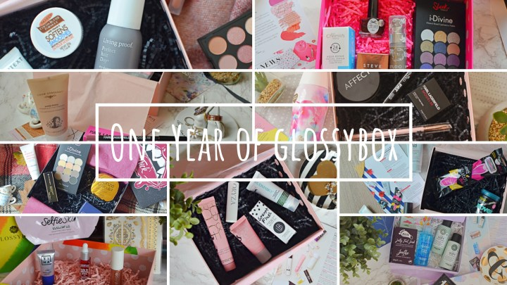 One Year of Glossybox!