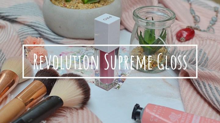 New | Revolution Supreme Gloss Pigment