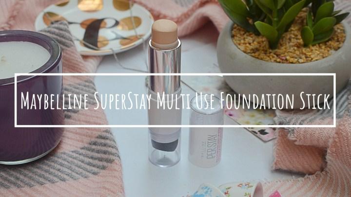 New | Maybelline SuperStay Multi Use Foundation Stick
