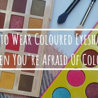 How to Wear Coloured Eyeshadow When You're Afraid Of Colour