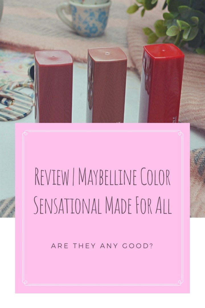 Maybelline Color Sensational Made For All Top Image