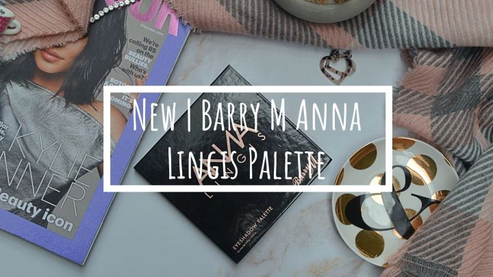 New | Barry M x Anna Lingis Eyeshadow Palette