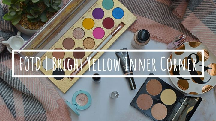 FOTD | Bright Yellow Inner Corner