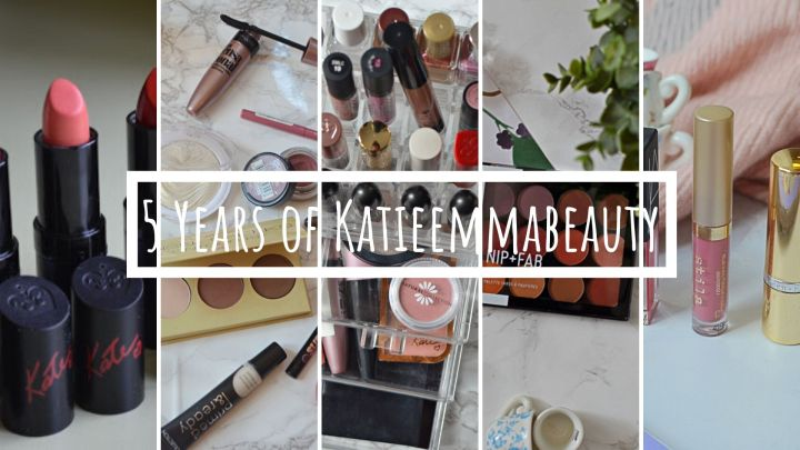 5 Years of KatieEmmaBeauty | The Blog Evolution