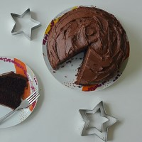 Super Chocolatey Chocolate Fudge Cake Recipe