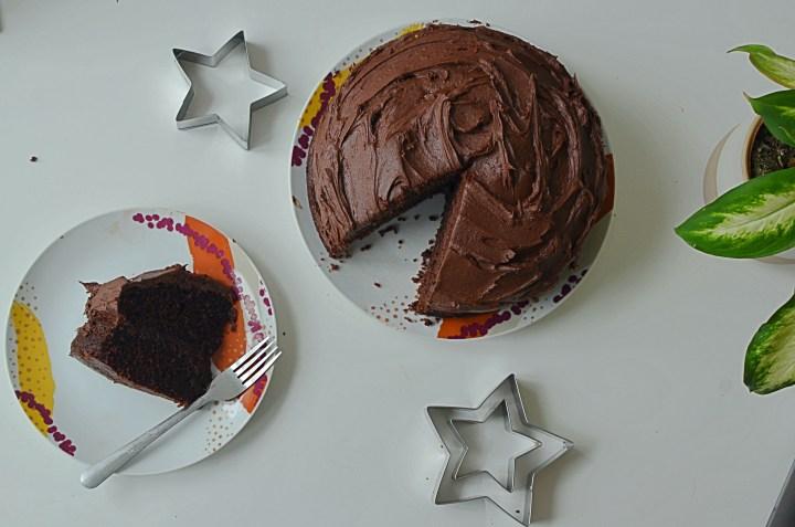 Super Chocolatey Chocolate Fudge Cake Recipe
