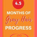 image of gray hair transition pin