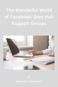image of gray hair support group PIN