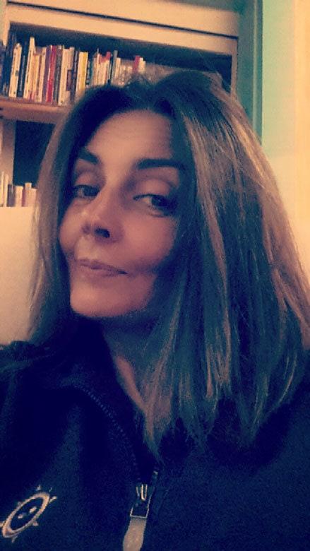 December 2016 Sandrine Gray Hair Transition