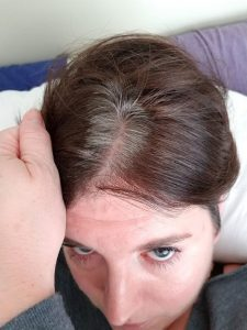 hair dye roots showing