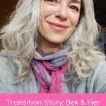 bek natural silver hair transition
