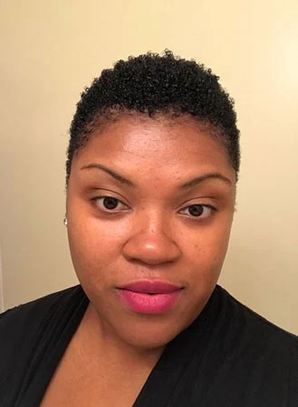 image of woman short hair