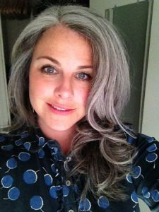 image of lauren stein btwco gray hair