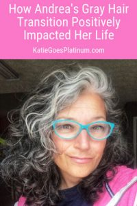 image of self-confident woman gray hair
