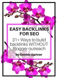 image of easy backlinks for seo ebook blogging resources