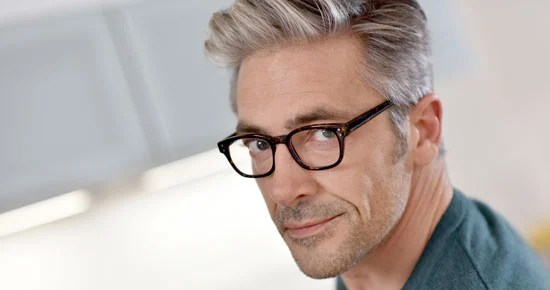 IMAGE OF HANDSOME MAN GRAY HAIR surprising truth gray hair