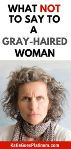 image of pissed off gray hair woman