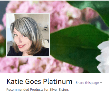 image of katie goes platinum amazon prime shop