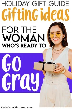 image of woman who wants to go gray