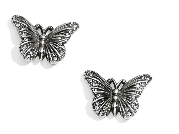image of butterfly earrings