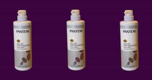 image of pantene pro-v silver expressions purple shampoo bottles