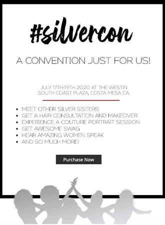 silver sisters convention 2020 ticket image