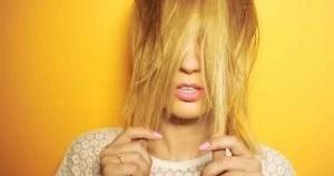 image of yellow gray hair
