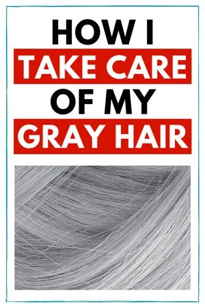 image of gray hair care