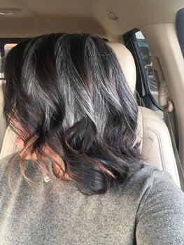 Image of strip dye technique