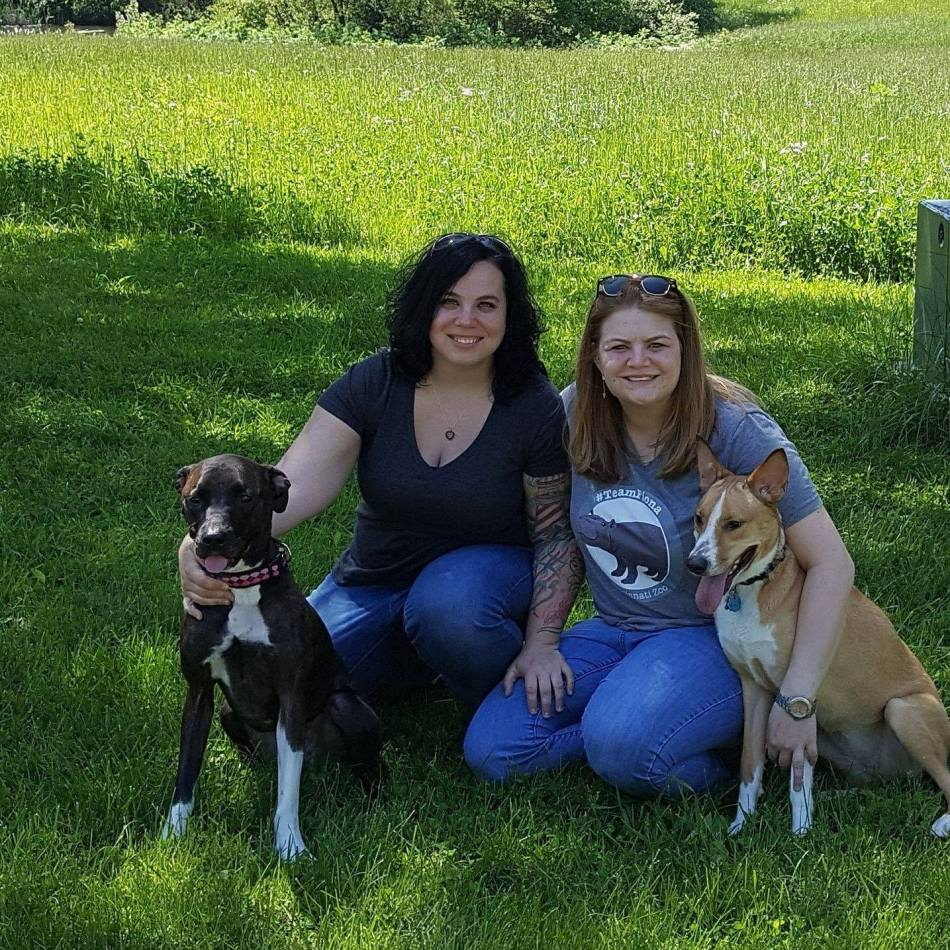 jen and i and pups.jpg