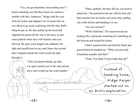 Sample page layout.