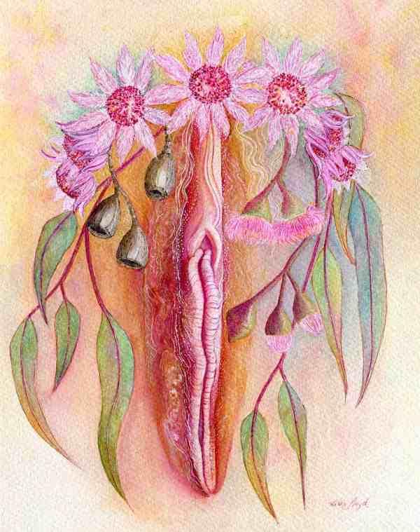 Life Blossoms Yoni Art