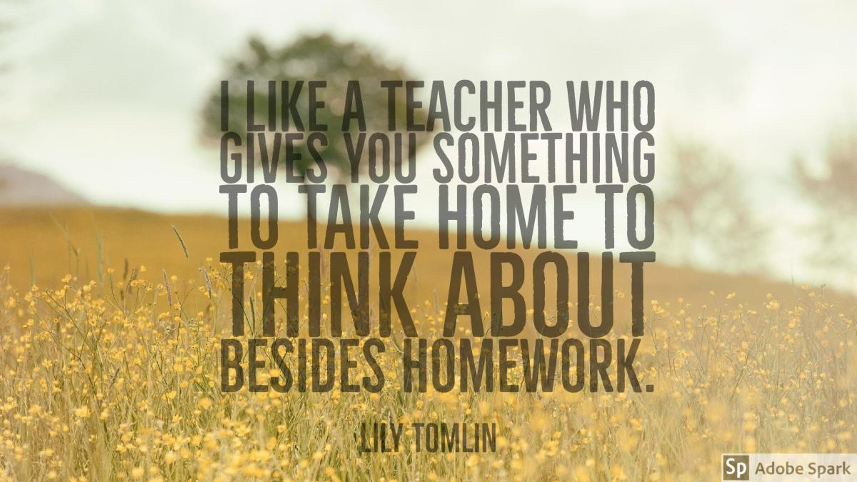 Why Are We Still Assigning Homework? #IMMOOC