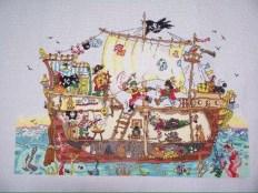 Cut Thru Pirate Ship