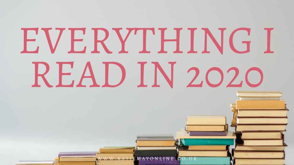 all the books I read in 2020