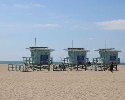 Venice Beach Lifeguard Huts