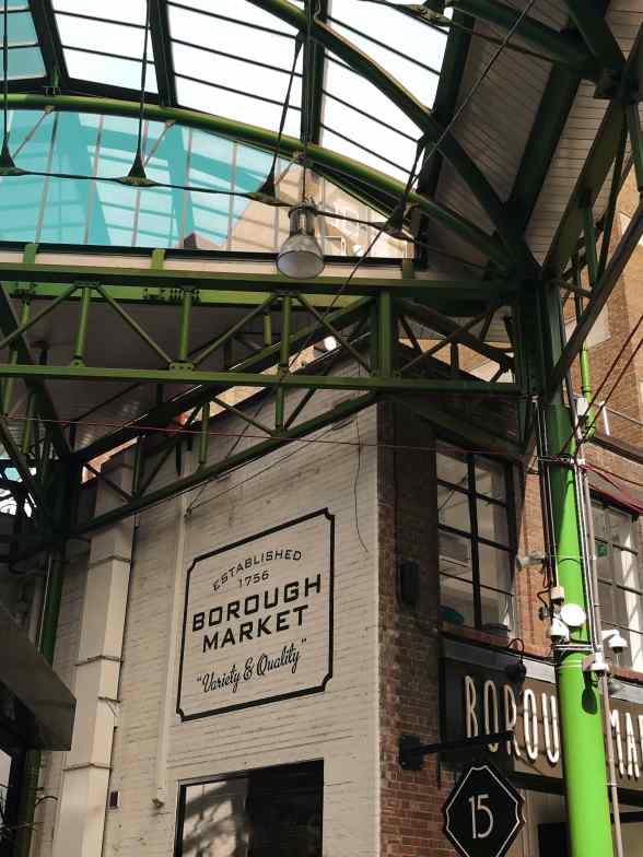 eat all the food you can at Borough Market