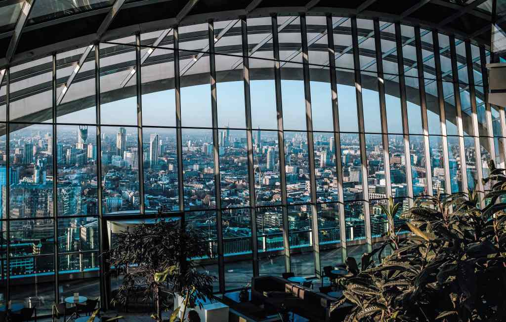 see London's incredible views from the sky garden