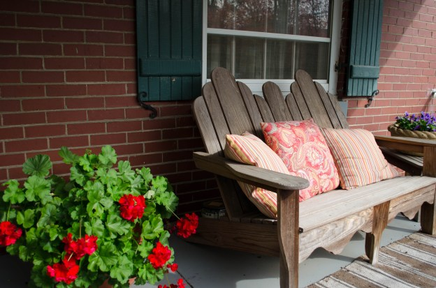 a photogenic front porch in my hometown of Louisville, Kentucky
