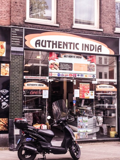 Authentic India is a charming and fully-stocked Indian grocery store near the Dappermarkt in Amsterdam