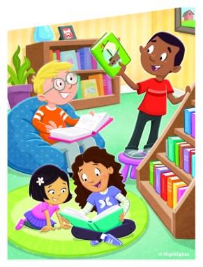Cover Illustration for Highlights Books Magazine