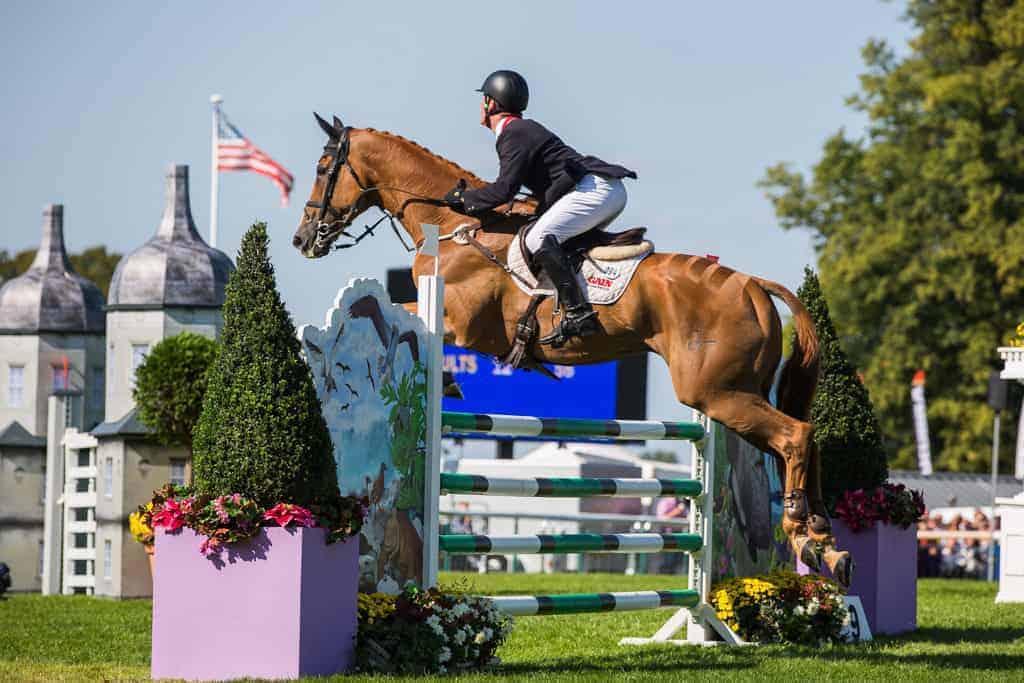 equine event photographer blair european championships oliver townend