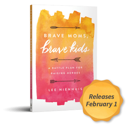 Brave Moms, Brave Kids book by author and speaker Lee Nienhuis