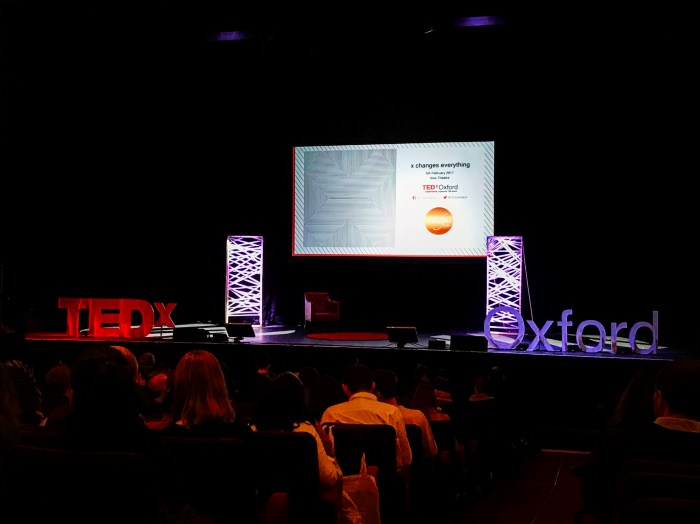 TEDx Oxford Stage