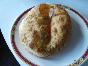 Gurung bread, like a big beignet, was a favorite breakfast.